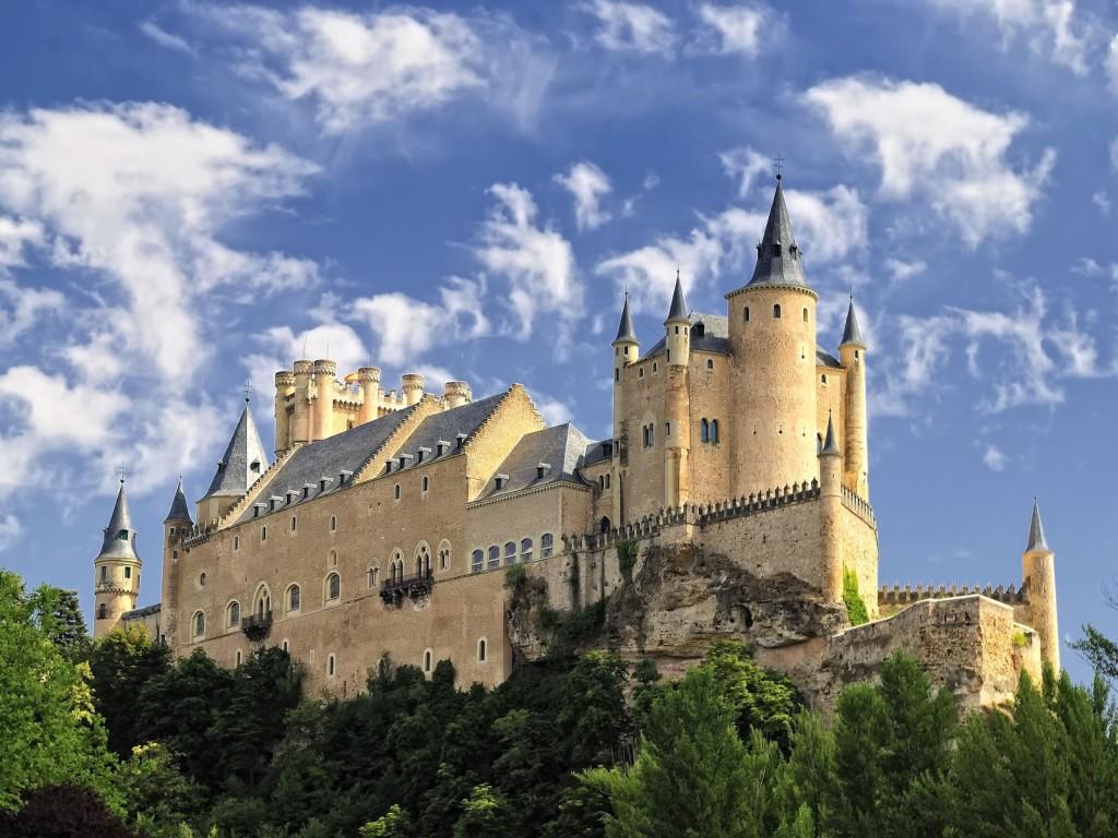 Castelul medieval din Segovia, Spania