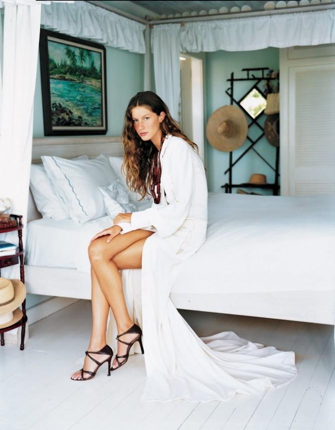Gisele Bündchen in revista Vogue