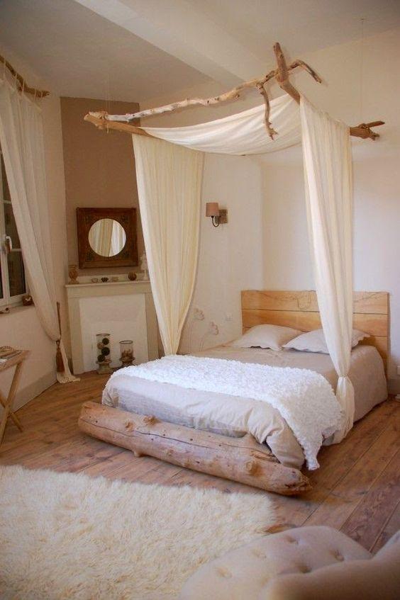 Dormitor rustic DIY