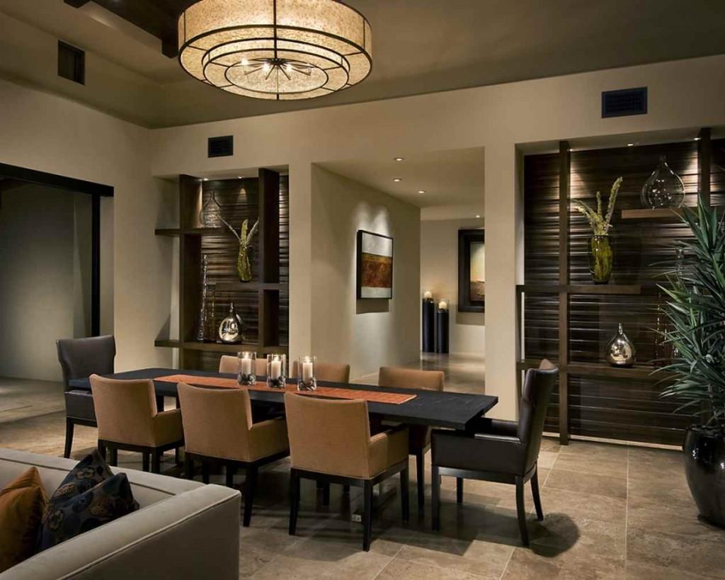 Interior de dining modern
