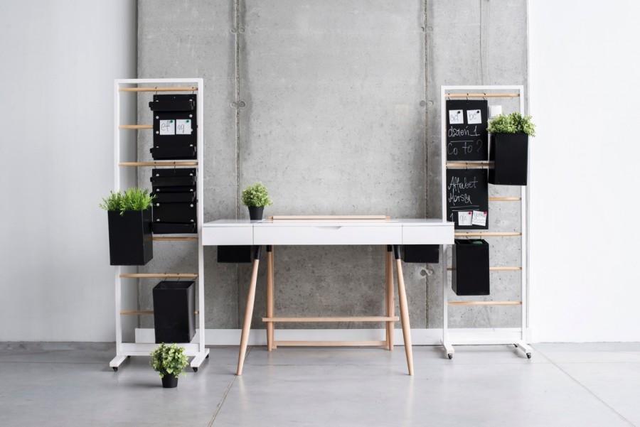 Amenajare birou stil scandinav