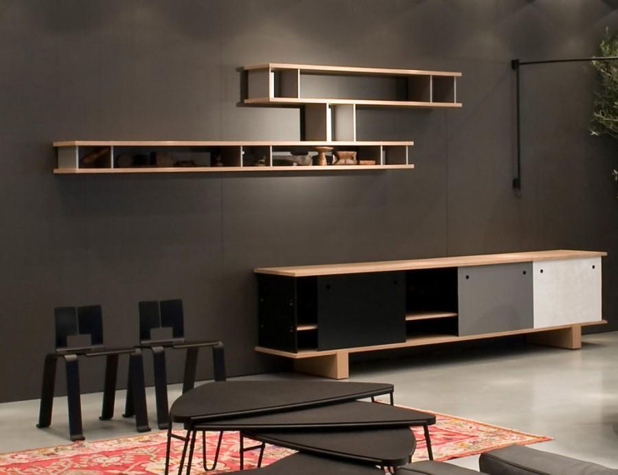 living-modern-rafturi-de-perete-comoda-tv-si-mese-de-cafea