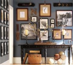Amenajare hol stil feng shui - tablouri si mobilier