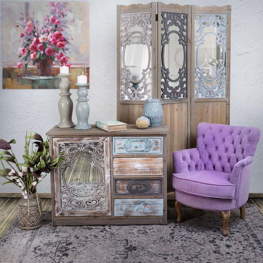 Shabby chic simplitate romantism eleganta retro boutique - Shabby chic casa ...