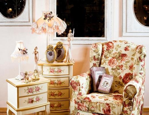 Amenajarea interioarelor in stil romantic shabby chic
