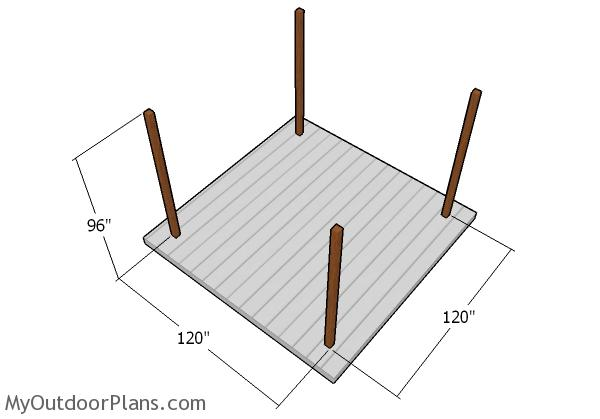 construire foisor figura 1