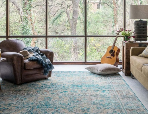 Alegerea covorului in functie de camera