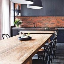 Amenajarea primului apartament în stil industrial - dining