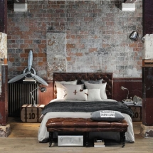 amenajare-dormitor-stil-industrial