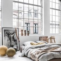Dormitor de loft