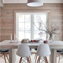 Stilul Nordic - Furnir cu Lemn