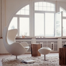 Stilul Nordic in prezent - Egg Chair (5)
