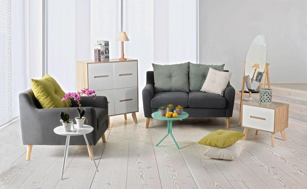 Canapele și fotolii în stil scandinav