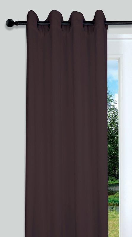 Draperie maro Doudou 5792 Chocolat 135x250 cm