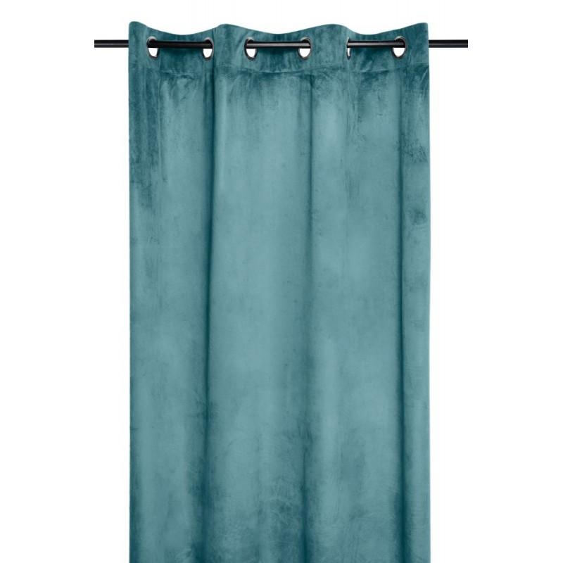 Draperie turcoaz catifea Danae Celadon 140x260 cm