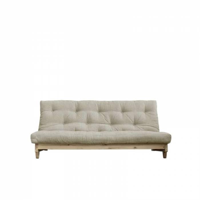 Canapea extensibilă textil bej in Fresh Natur
