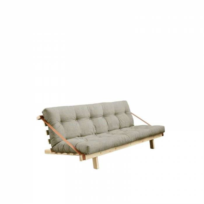 Canapea extensibilă textil bej in Jump Natur