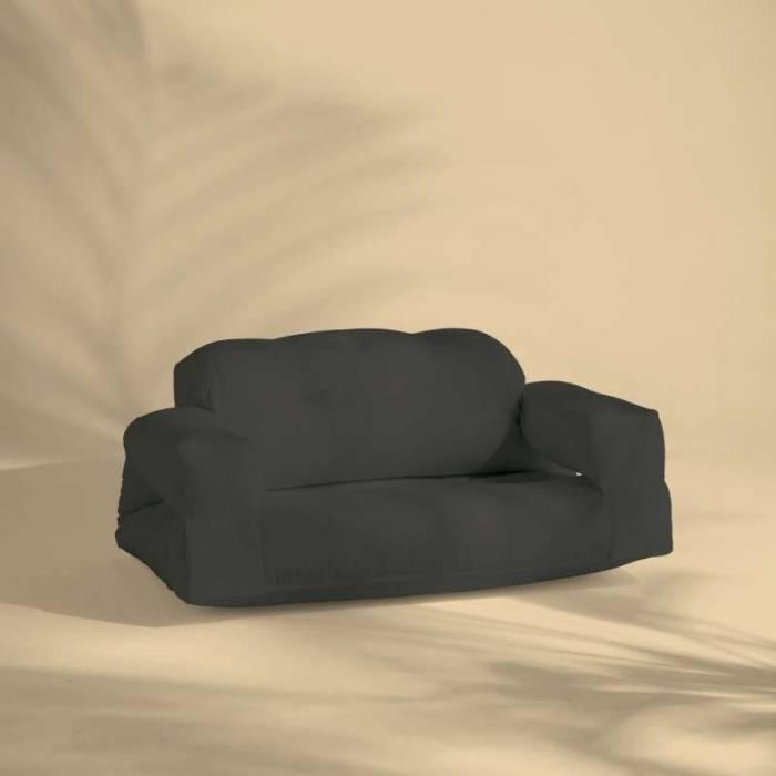 Canapea gri închis de exterior Hippo OUT