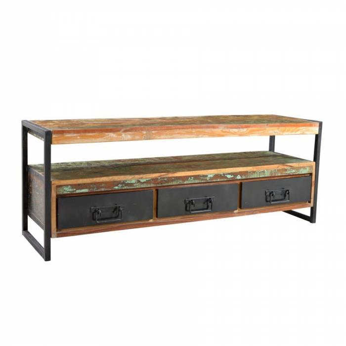Comodă TV din lemn reciclat Indochina