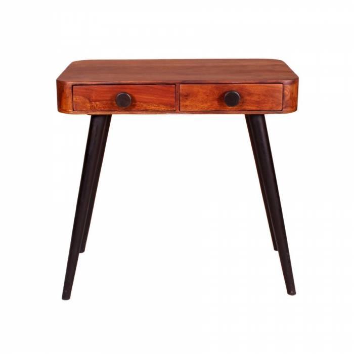 Consolă cu sertare din lemn de palisandru Shewa