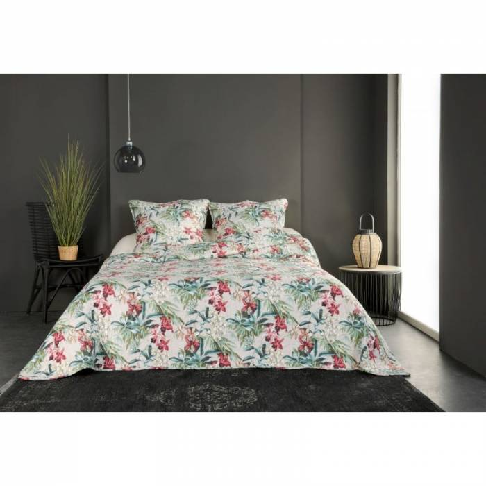 Cuvertură florală de pat Sauvage 230x250 cm