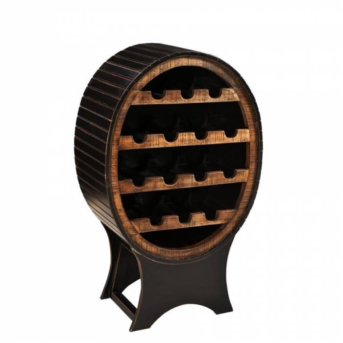 Etajeră de bar cu suport sticle de vin Bastia