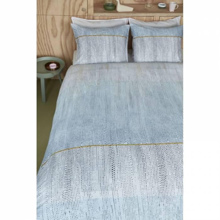 Lenjerie de pat albastră Libby Pastel 200x200 cm