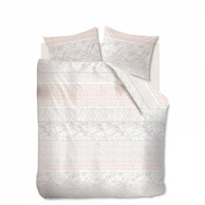 Lenjerie de pat Lacy Soft Pink 200x200/220 cm