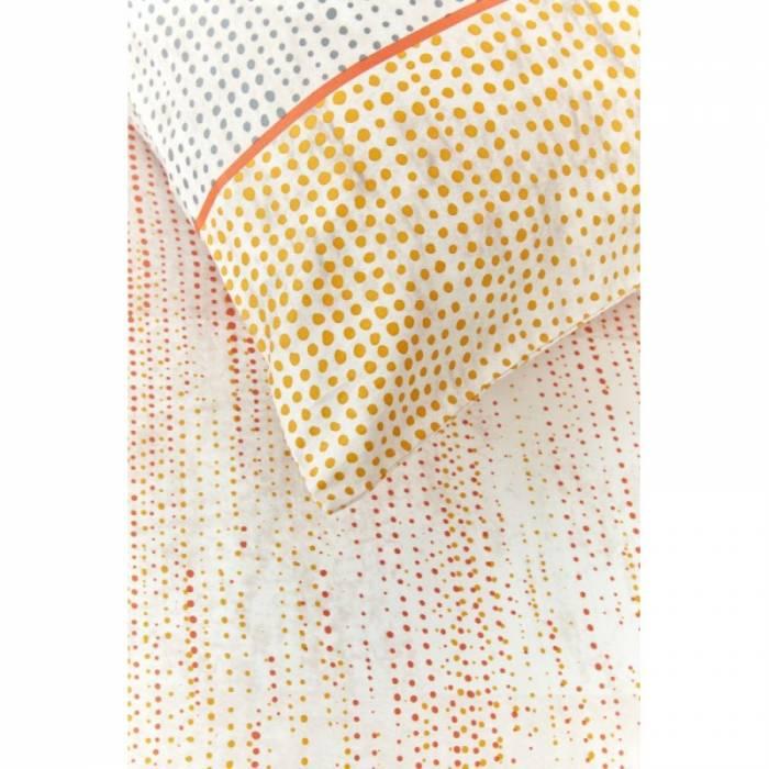 Lenjerie de pat portocalie Libby Orange 200x200 cm