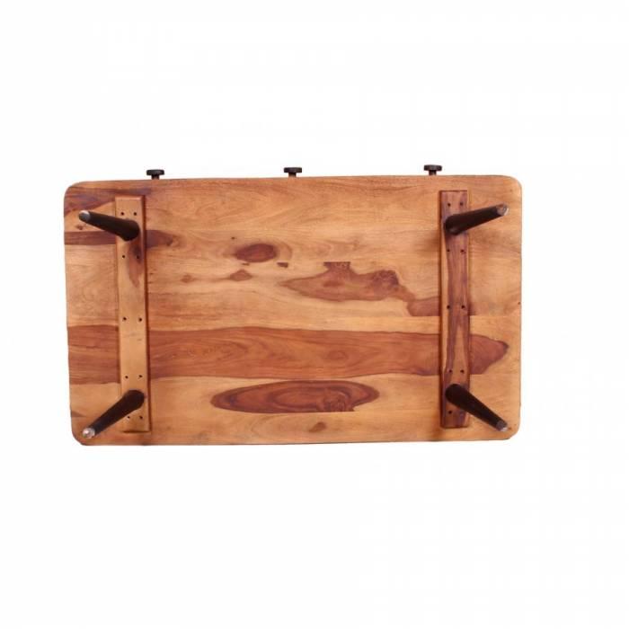 Masă de cafea din lemn de palisandru Shewa Combi