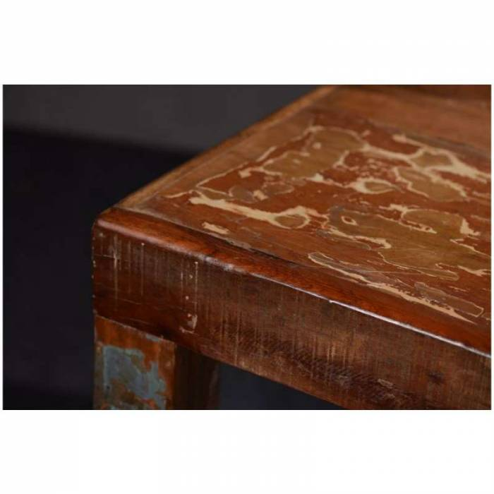 Masă dining din lemn exotic Old Boat 180