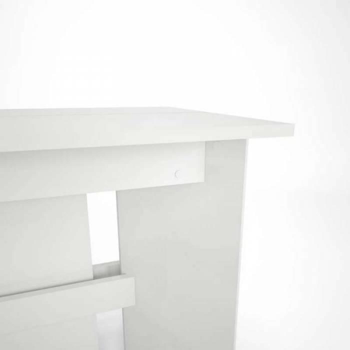 Masă extensibilă albă Vano
