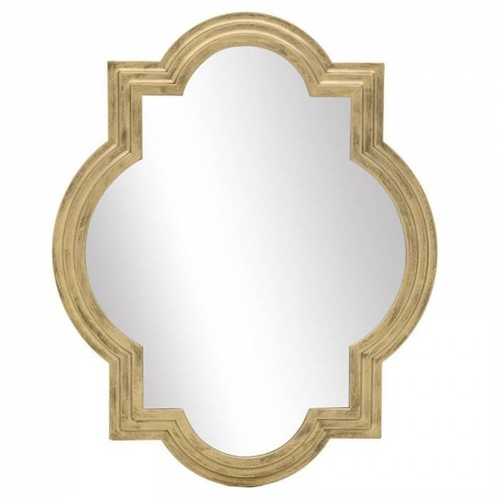 Oglindă aurie Sylvia
