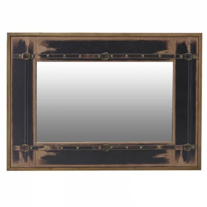 Oglindă din lemn de brad Martin