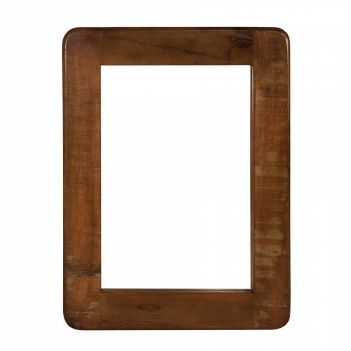 Oglindă din lemn exotic Old Boat