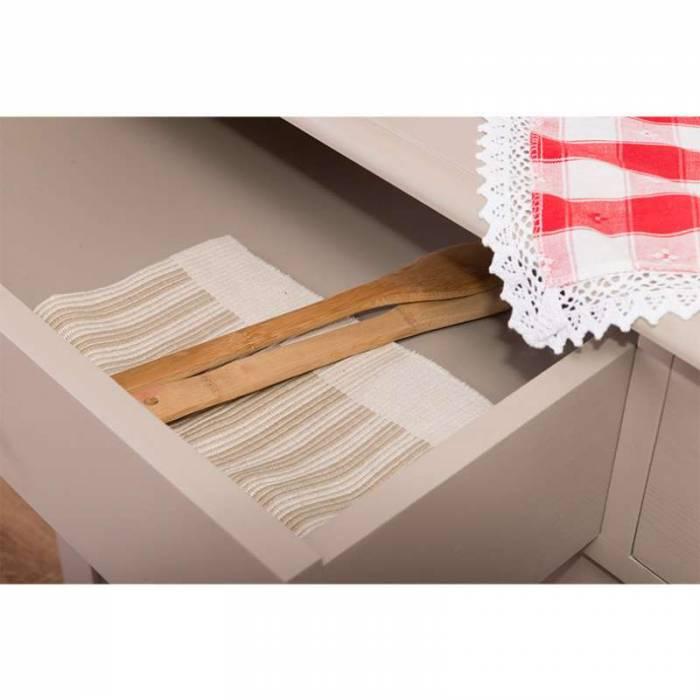 Bufet cu 2 sertare și 2 uși glisante Bastien