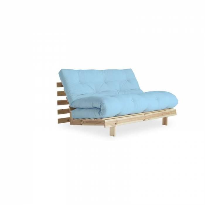 Canapea extensibilă bleu deschis Roots Natur
