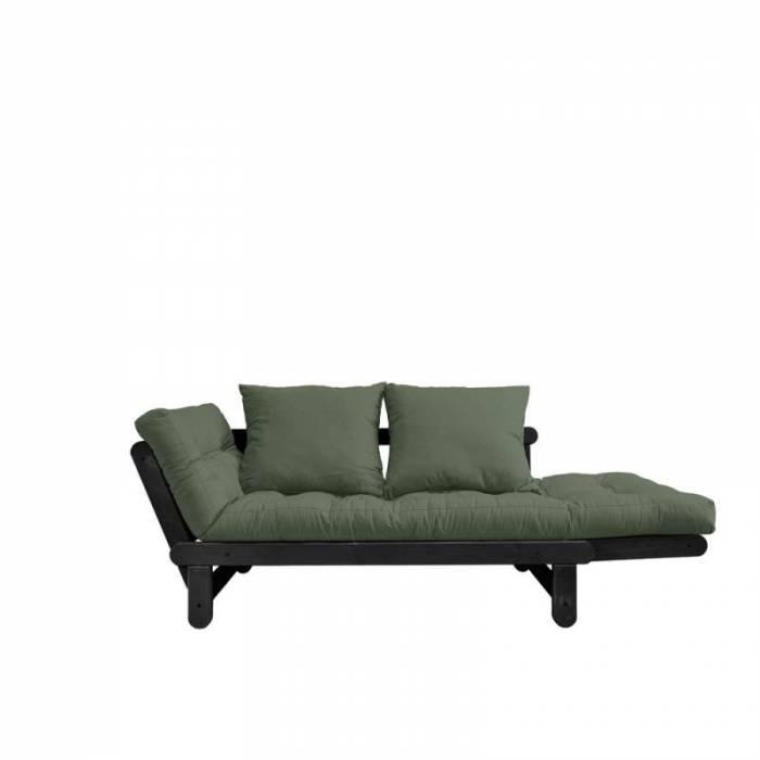 Canapea extensibilă oliv Beat Black