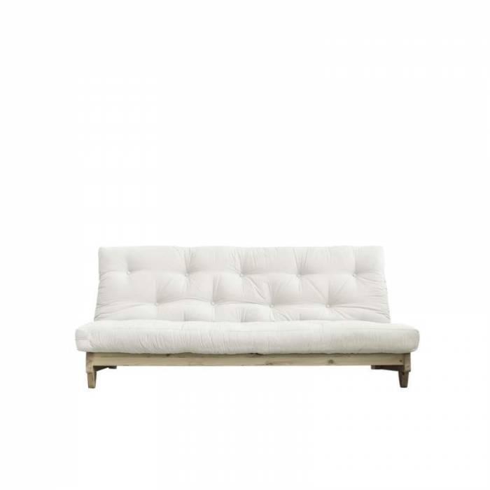 Canapea extensibilă textil crem Fresh Natur