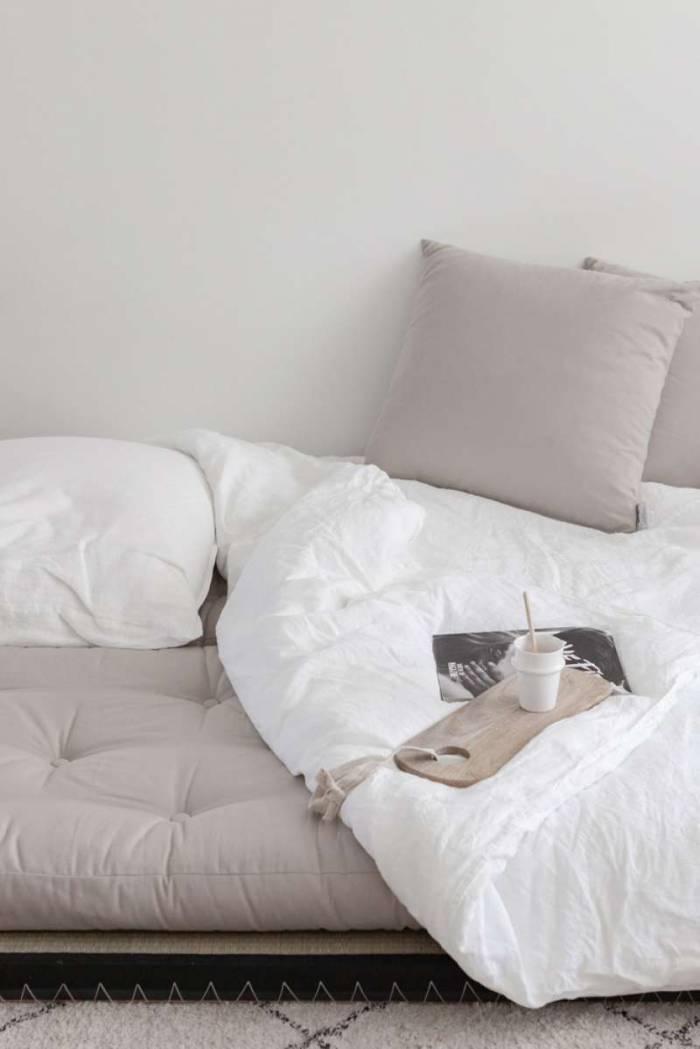 Canapea modulară crem Chico