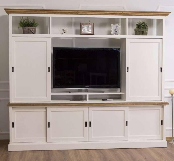Comodă TV cu uși glisante Linon
