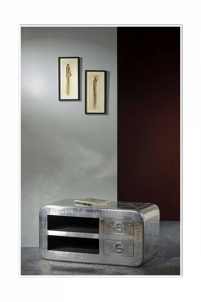 Comodă TV în stil industrial Hangar 11