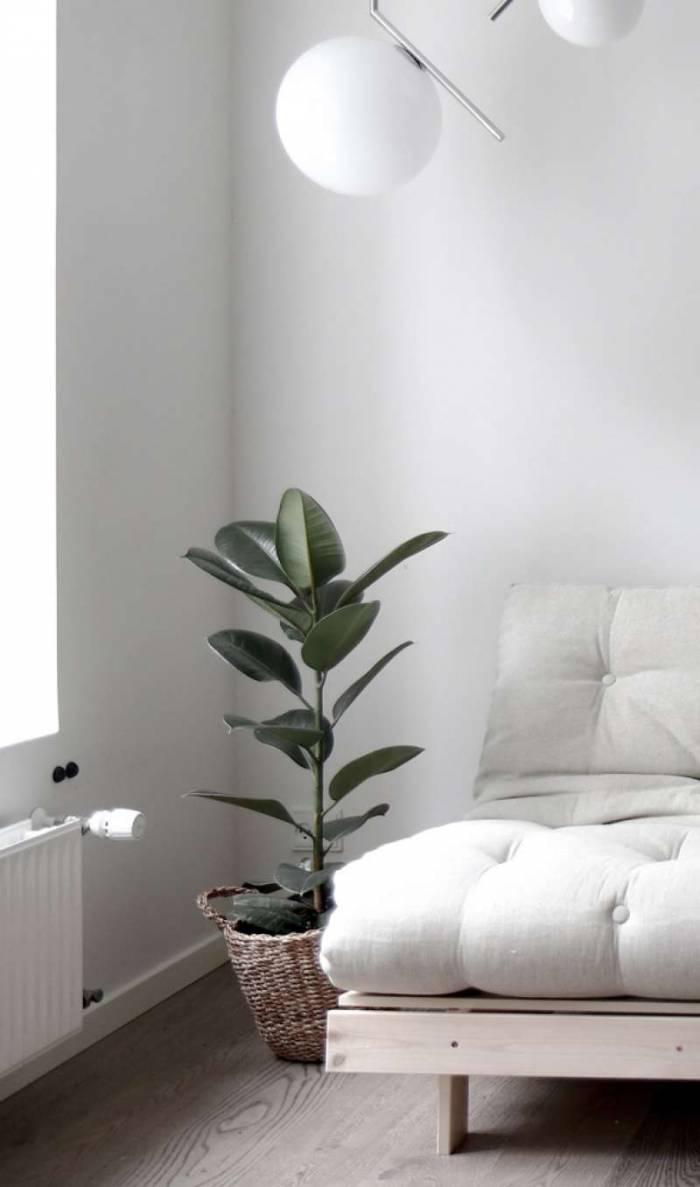Fotoliu extensibil gri deschis Roots White