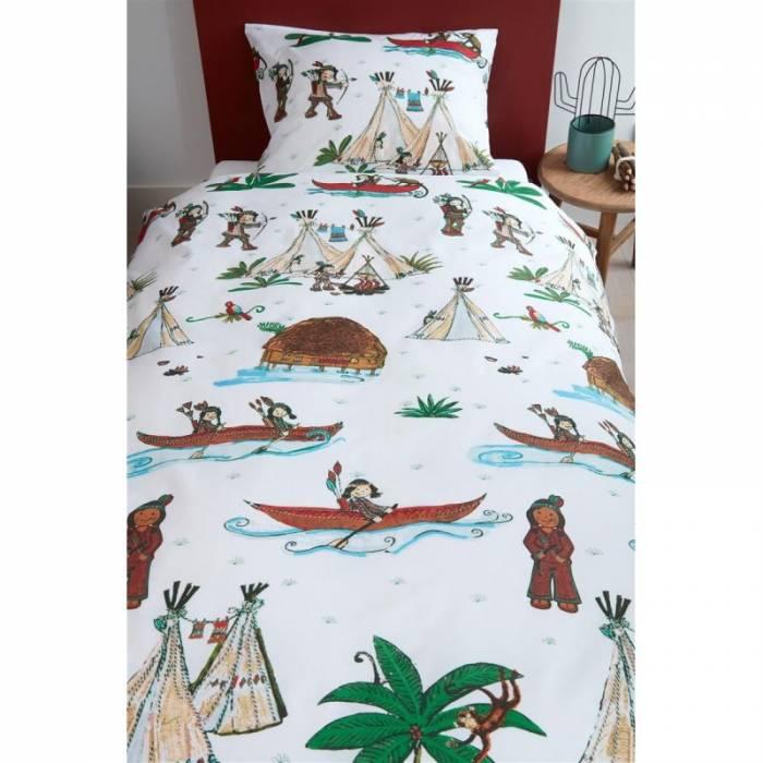 Lenjerie de pat pentru copii Wigwam 140x200/220 cm