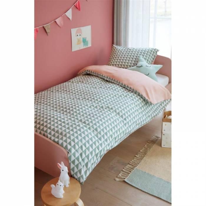 Lenjerie de pat pentru copii Faas Green 140x200/220 cm