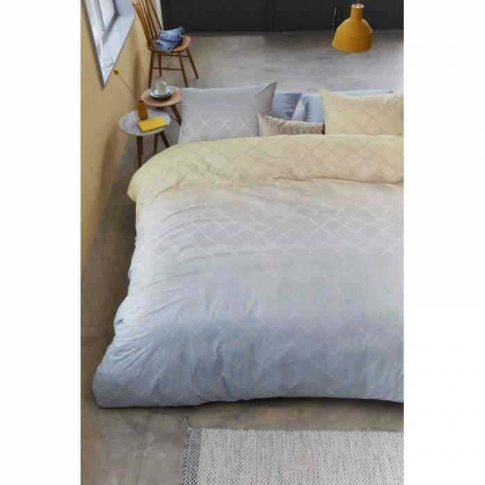 Lenjerie de pat modernă galbenă Carrera Yellow 200x200/220 cm