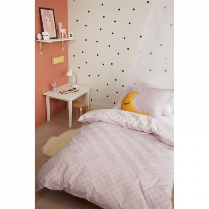Lenjerie de pat roz Noolah Soft Pink 140x200/220 cm