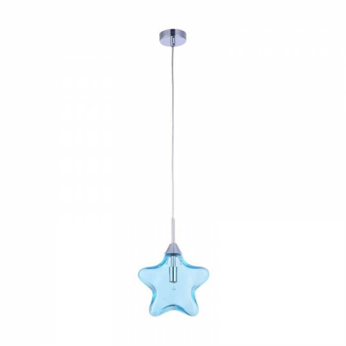 Lustră albastră Star