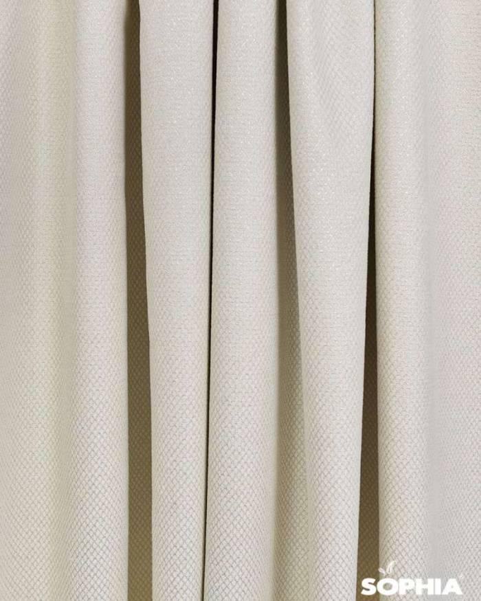 Material draperie Marbel, alb-argintiu