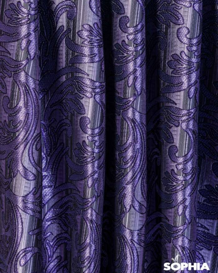 Material draperie Melilla, violet